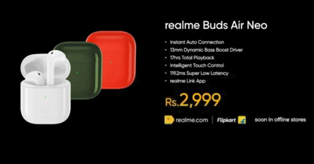 REALME-BUDS-AIR-NEO-PRICE-AND-AVAILABILITY